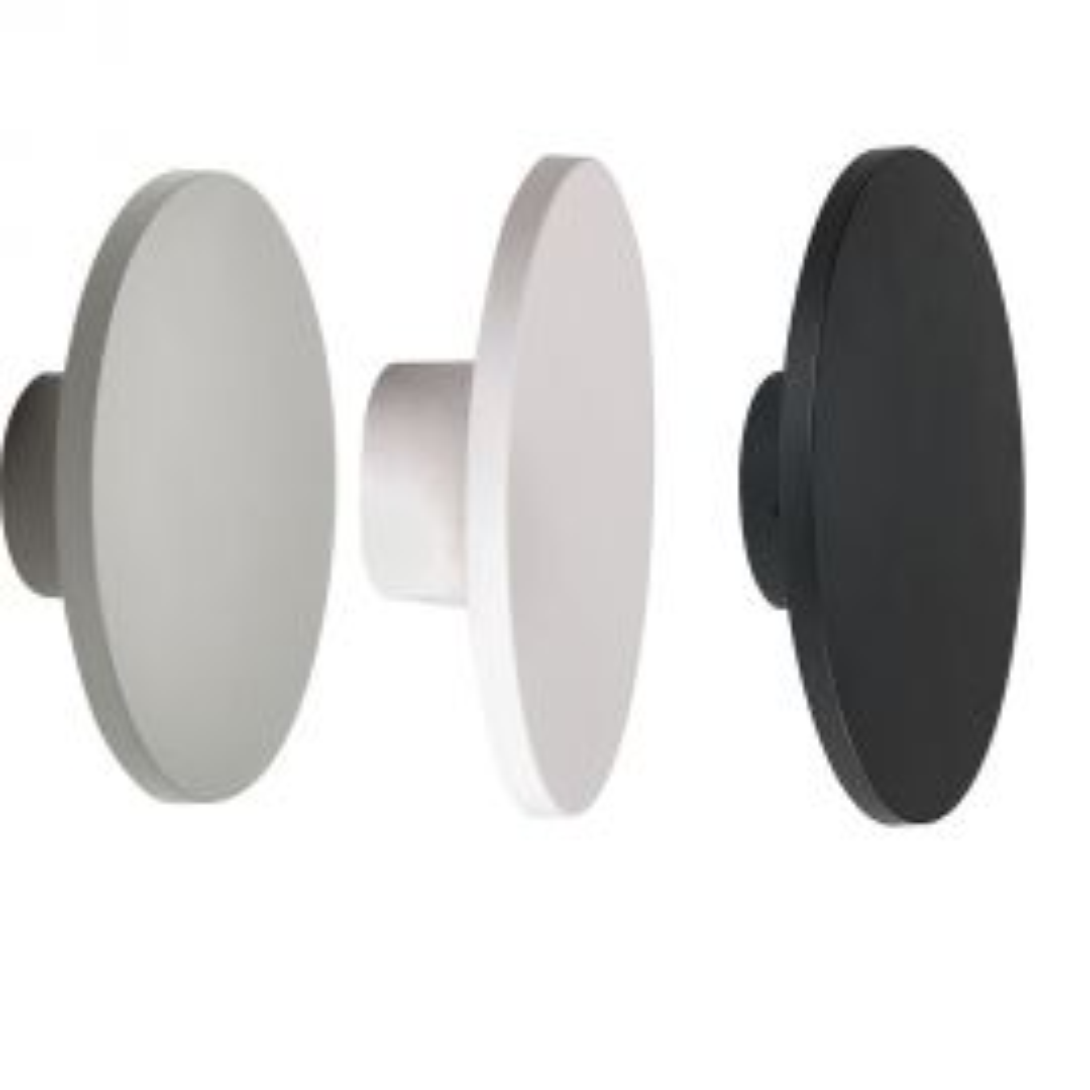 גוף תאורה לד דגם עדי ROUND - לבחירה שחור/לבן/אפור וגוון אור