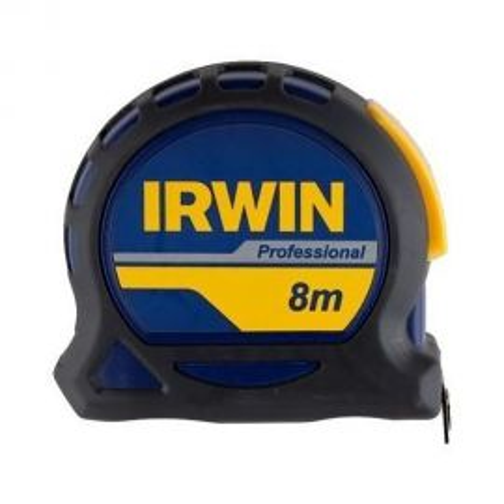 סרט מדידה מגנטי מקצועי IRWIN באורך 8 מטר
