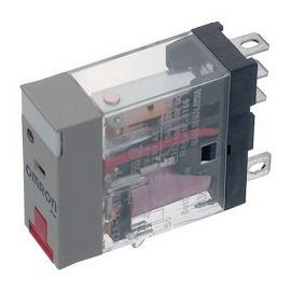 ממסר OM G2R-1-SNI 230AC LED+TEST BUTTON