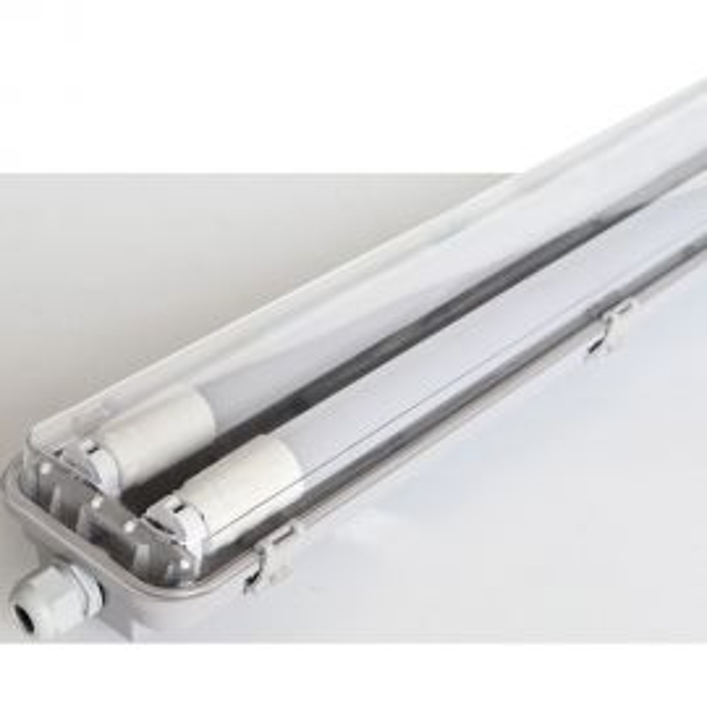 גוף תאורה מוגן מים LEDMETICO TUBE 2x22W 6500K של VEGA