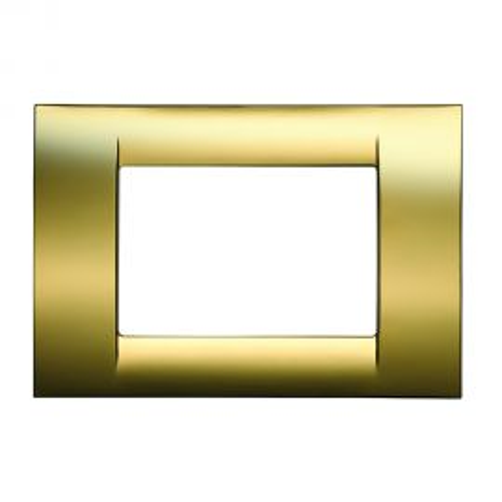 מסגרת VIRNA טכנו פולימר מטאלי גימור זהב עתיק