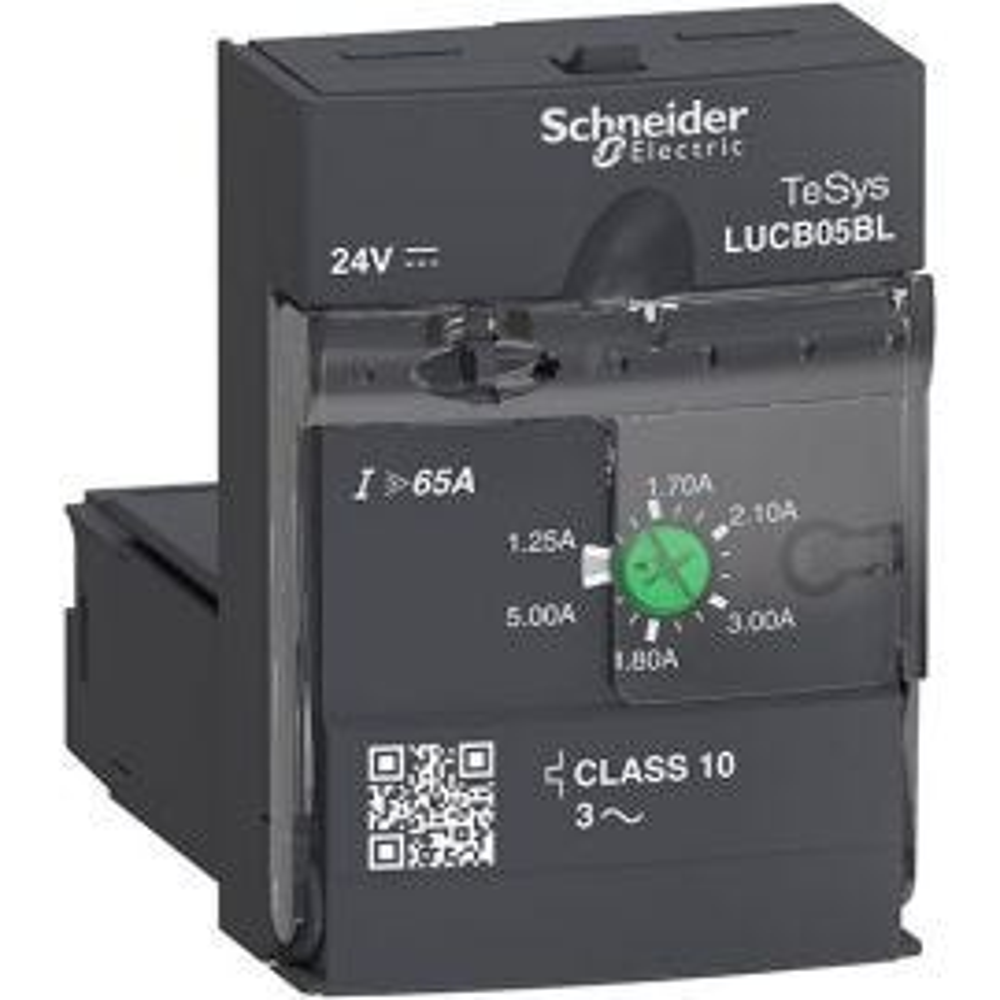 יחידת הגנה למנוע תלת פאזי 1.25-5A 24VDC