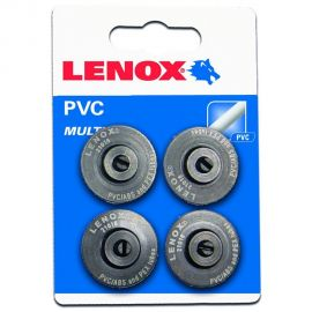 LENOX גלגלי חיתוך רזרביים פלסטיק/PVC