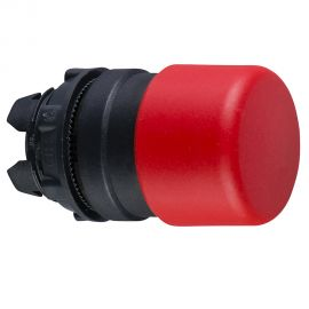 ראש לחצן פטריה קפיצי אדום ZB5AC44