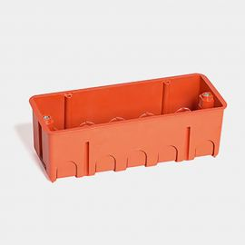 קופסא 6 מודול לקיר גבס עם ברגים