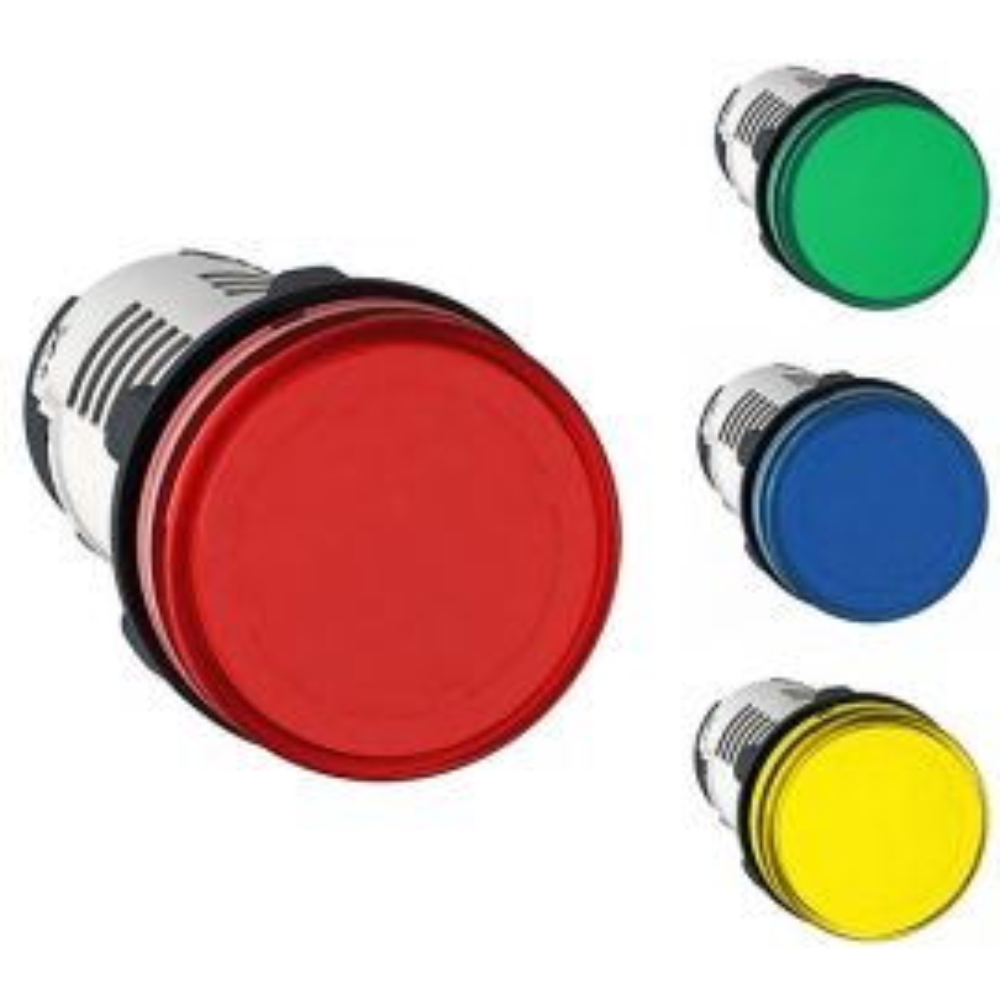 מנורות סימון לד קומפלט בגוף יצוק 24VAC/DC