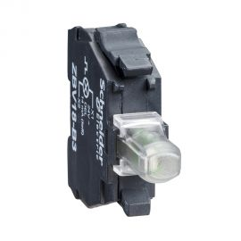 בית נורה 24-120V AC-DC LED LIGHT B - אדום
