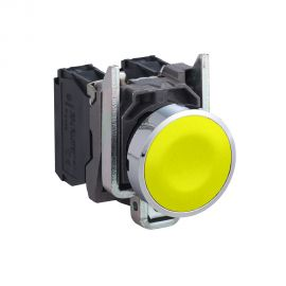 לחצן צהוב 1NO קומפלט XB4BA51